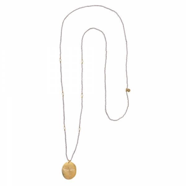 Swing Mondstein Gold Halskette