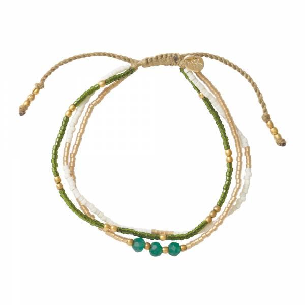 Gentle Aventurine Gold Bracelet