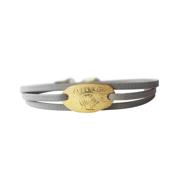 Lovely Shell gold bracelet