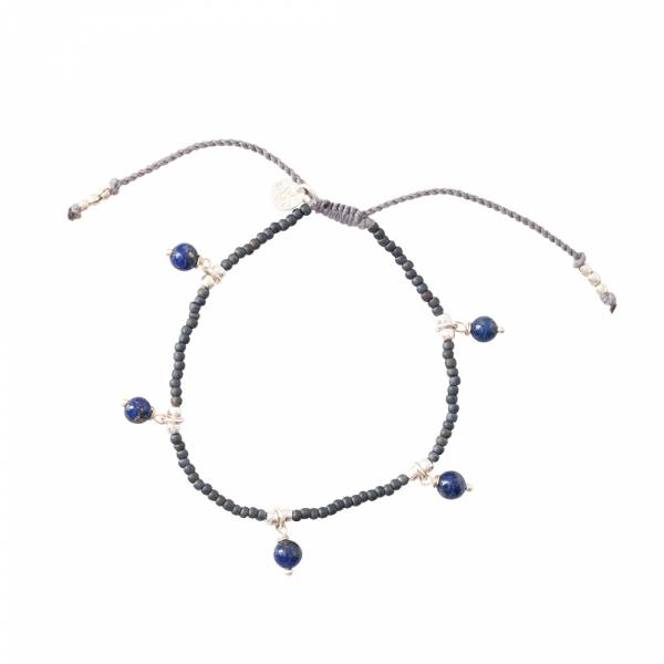 Dreamy Lapis Lazuli Zilver Armband