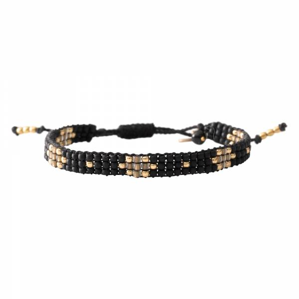 Summerlight Black Onyx Gold Bracelet