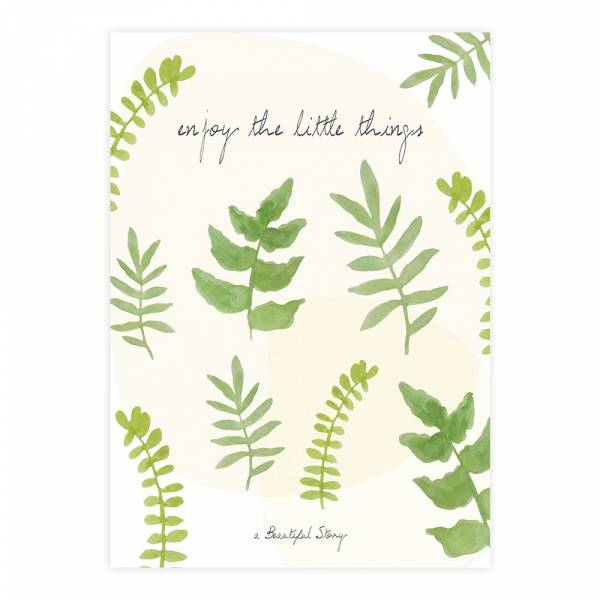 Greeting Card Leaves