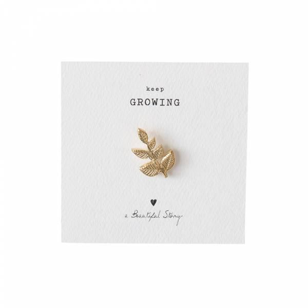 Brooch Branch Gold