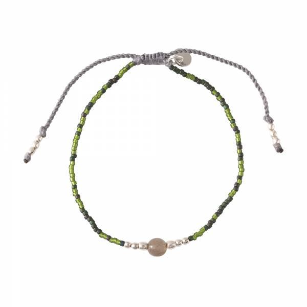 Iris Labradoriet Zilver Armband