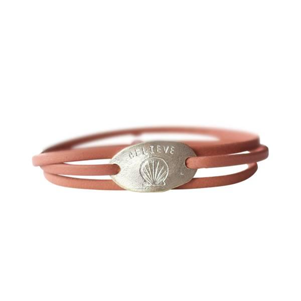 Lovely Shell silver bracelet