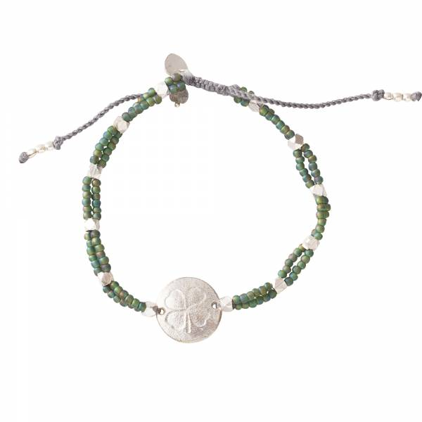 Gratitude Labradorite Silver Bracelet