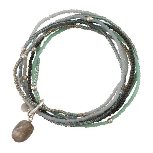 Nirmala Labradorite Silver Bracelet