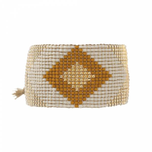 Lovable Citrien Goud Armband