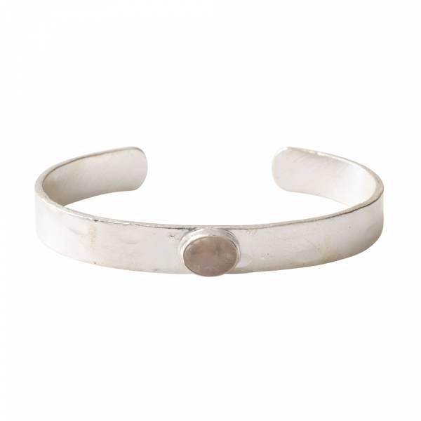 Liberty Rosenquarz Silber Armband