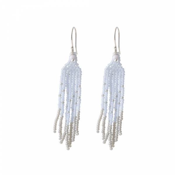 Favorite Blue Lace Agate Silver Earring