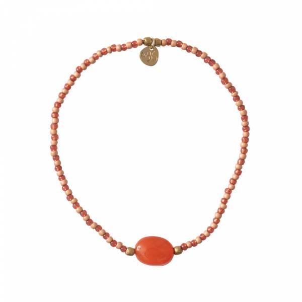 Summer Carnelian Gold bracelet