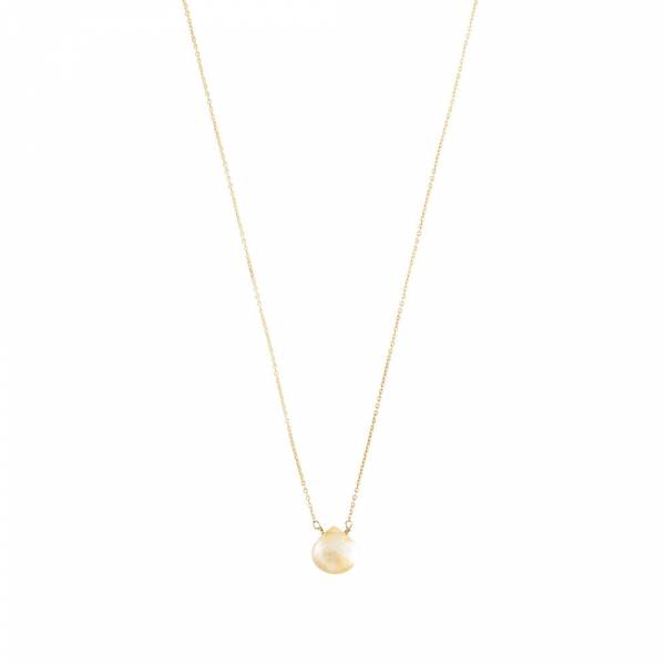 Divine Citrien Goud Ketting