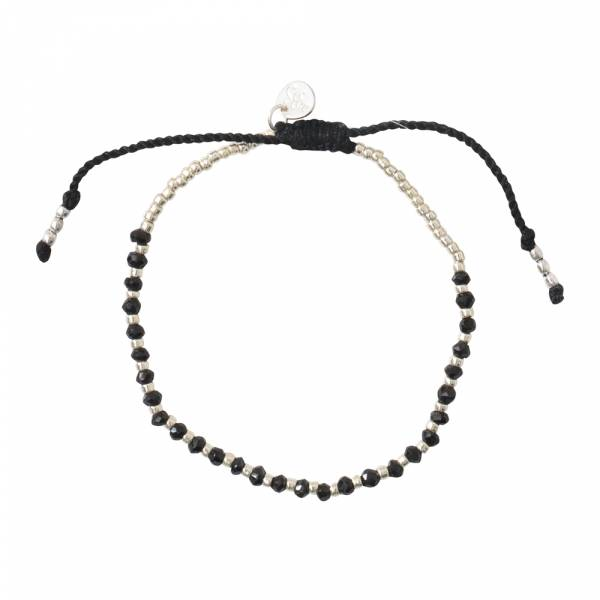 Beautiful Black Onyx Silver bracelet