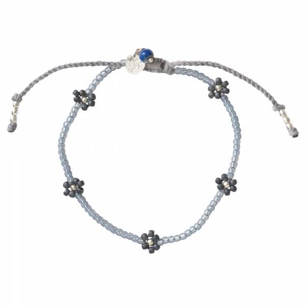 Sunshine Lapis Lazuli Silver Bracelet