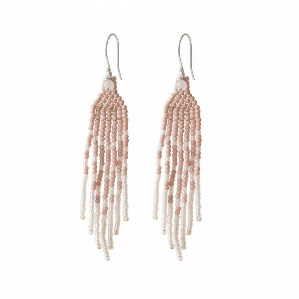Favorite Rose Quartz Silver Earring