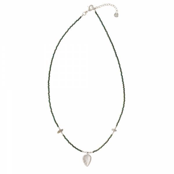 Wildflower Labradorit Silber Halskette