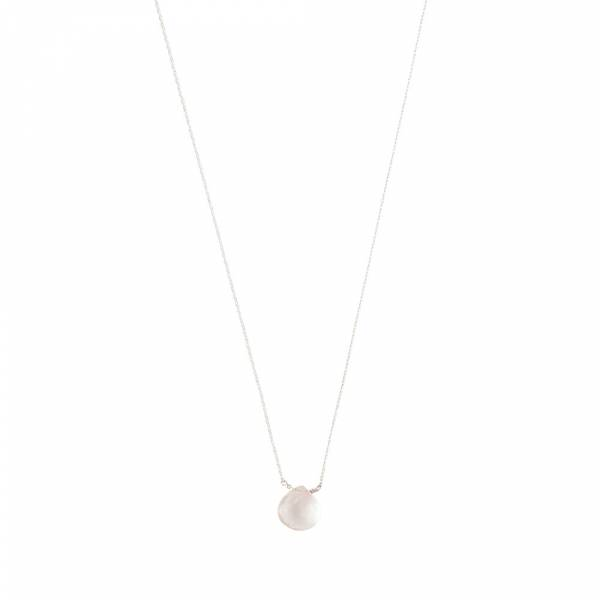 Divine Rose Quartz Silver Necklace