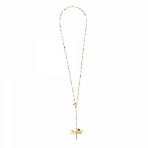 Comfort Aventurine Gold Necklace