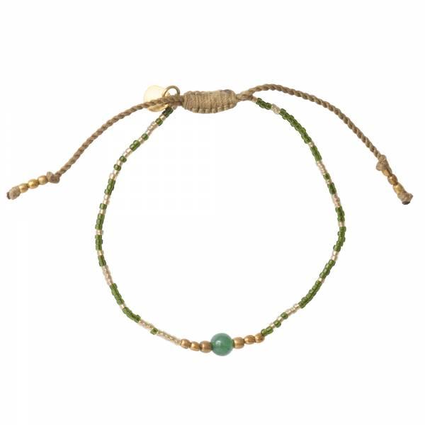 Iris Aventurin Gold Armband
