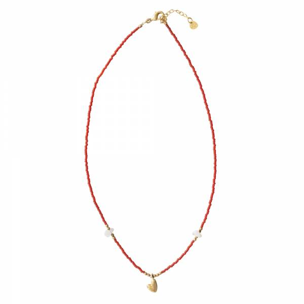 Wildflower Mondstein Gold Halskette