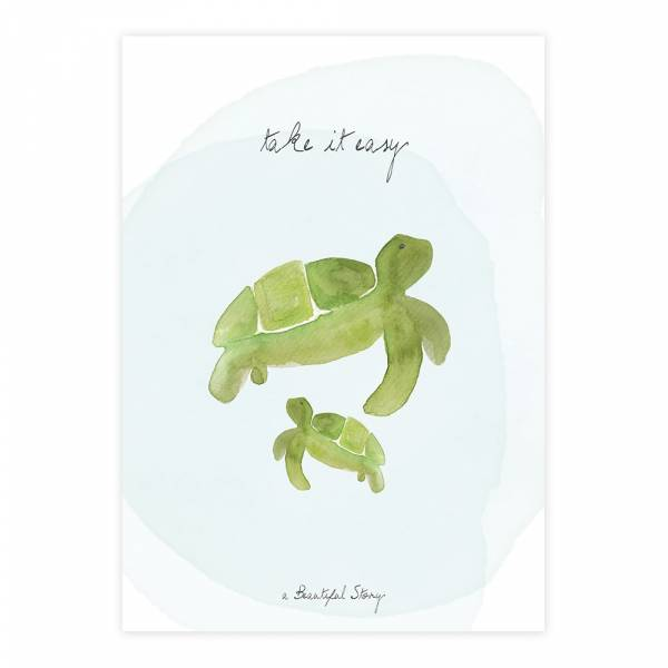 Greeting Card Turtles