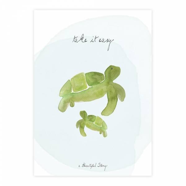 Greeting Card Turtles
