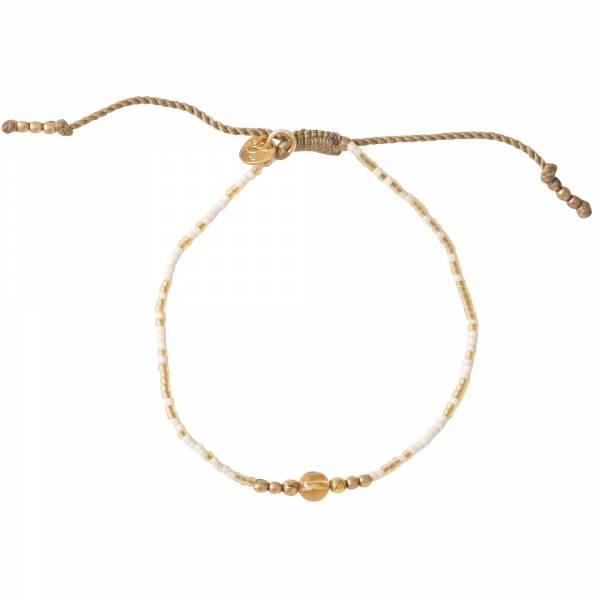 Iris Citrien Goud Armband