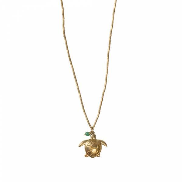 Paradise Aventurin Gold Halskette