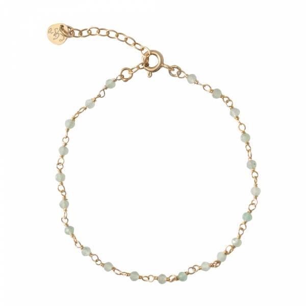 Harmony Aventurin Gold Armband