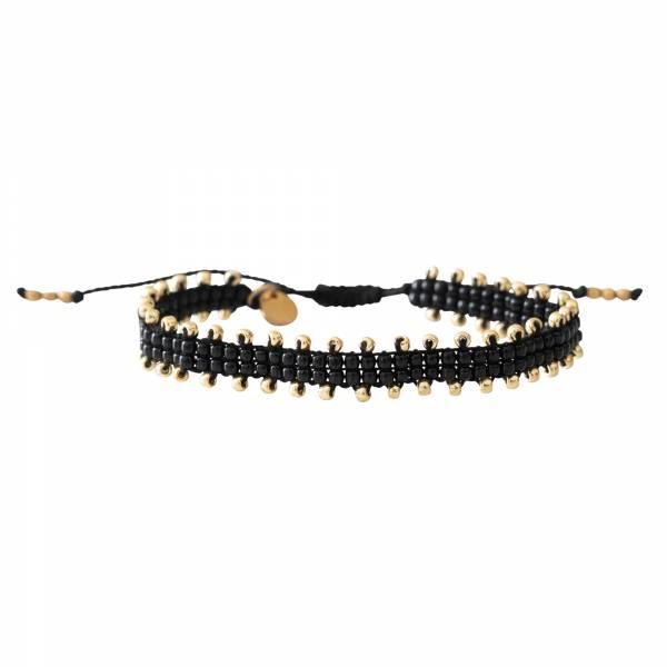 Happiness Black Onyx Gold bracelet