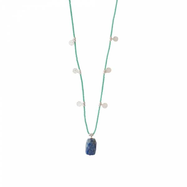Charming Lapis Lazuli Silver necklace