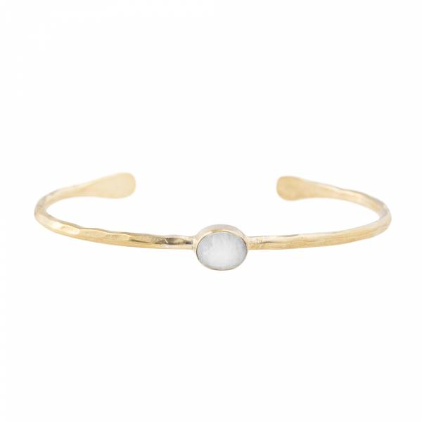 Moonlight Moonstone Gold bracelet