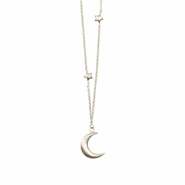 Twinkle silver necklace