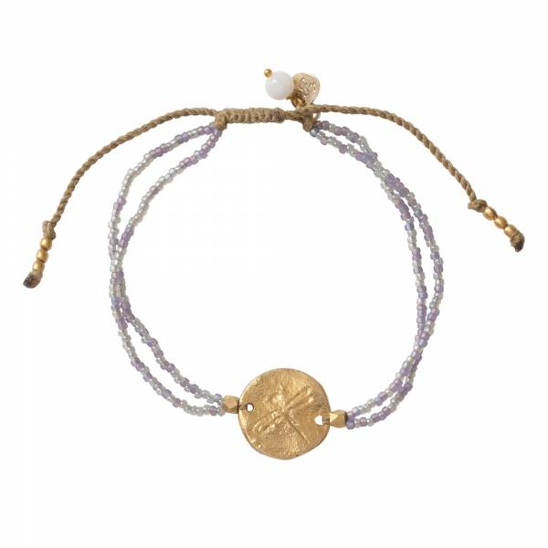Daydream Moonstone Gold Bracelet
