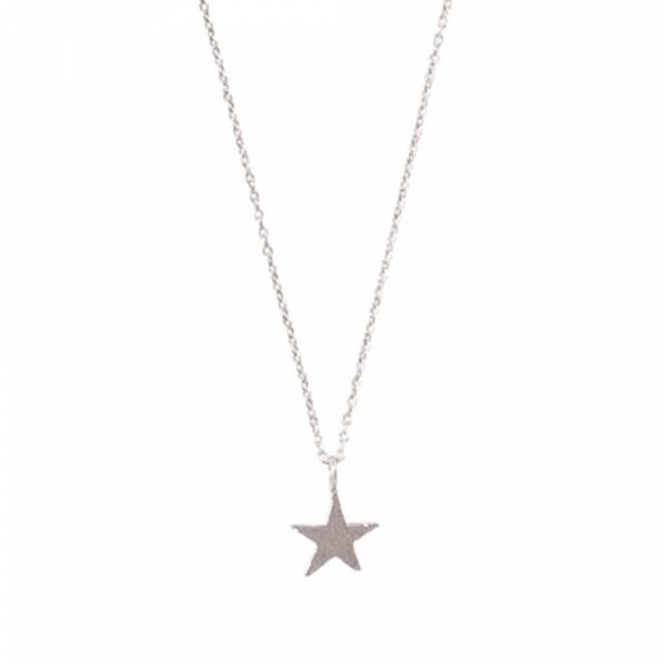 Delicate Star Sterling Silver Necklace