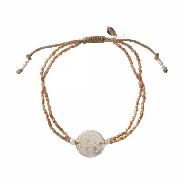 Daydream Smokey Quartz Silver Bracelet