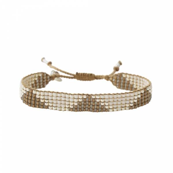 Flare Smokey Quartz Silver bracelet