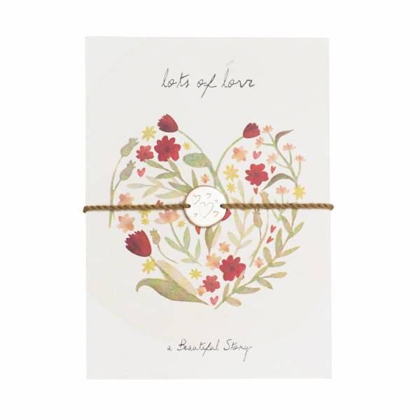 Jewelry Postcard Floral