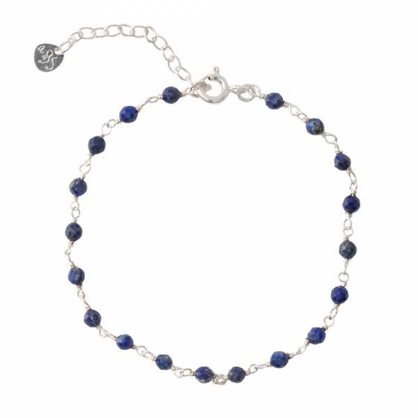 Harmony Lapis Lazuli Silver Bracelet
