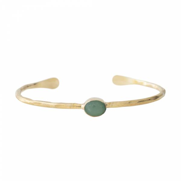 Moonlight Aventurine Gold bracelet