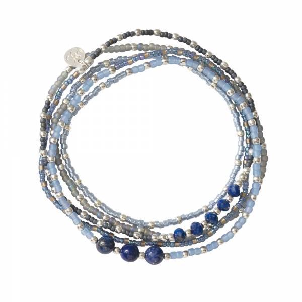 Together Lapis Lazuli Silver Bracelet
