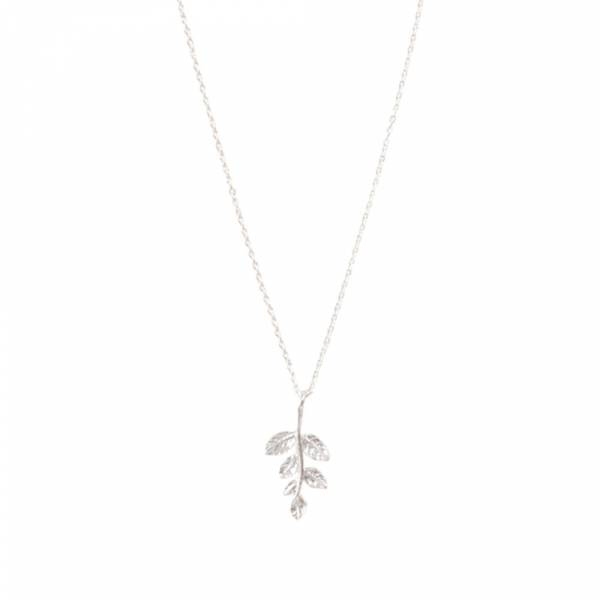 Delicate Branch Sterling Silver Necklace