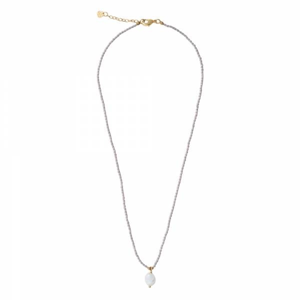 Magical Moonstone Gold Necklace