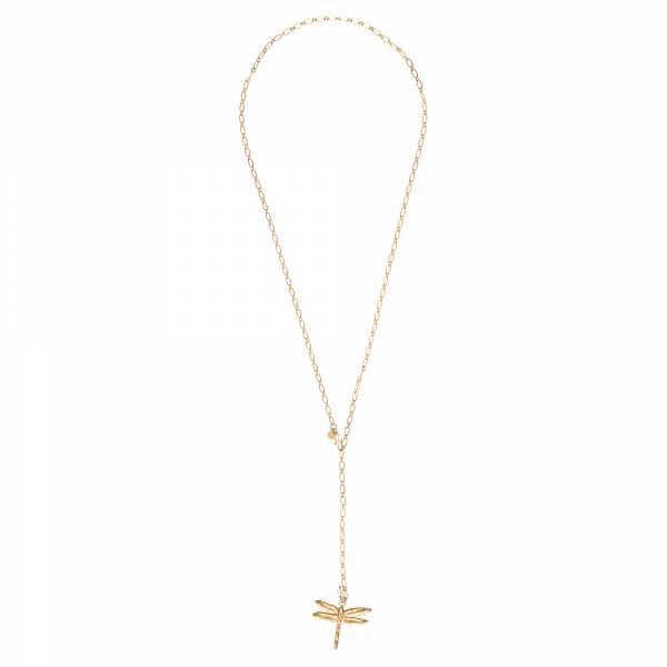 Comfort Mondstein Gold Halskette