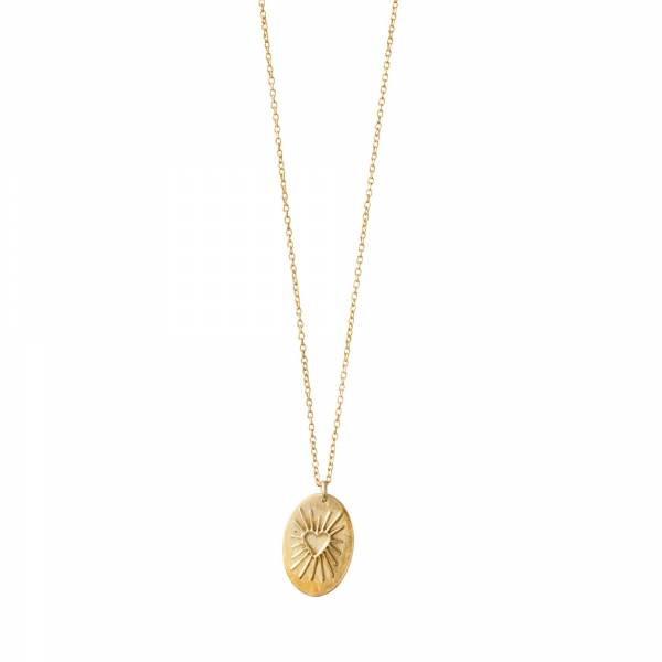 Wonderful Hart Goud Ketting