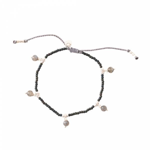 Dreamy Labradorite Silver Bracelet