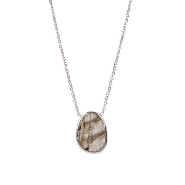 Tender Labradorite Sterling Silver Necklace