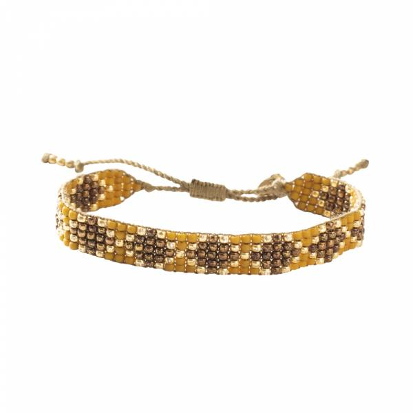 Breezy Tigerauge Gold Armband
