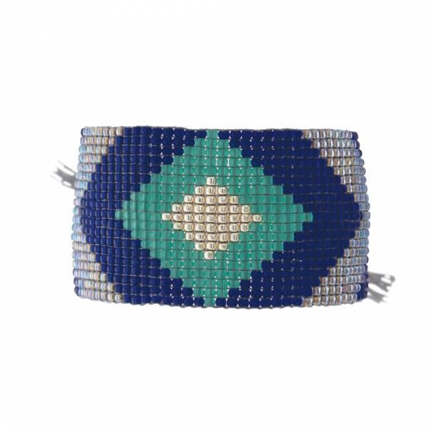 Lovable Lapis Lazuli Silver bracelet