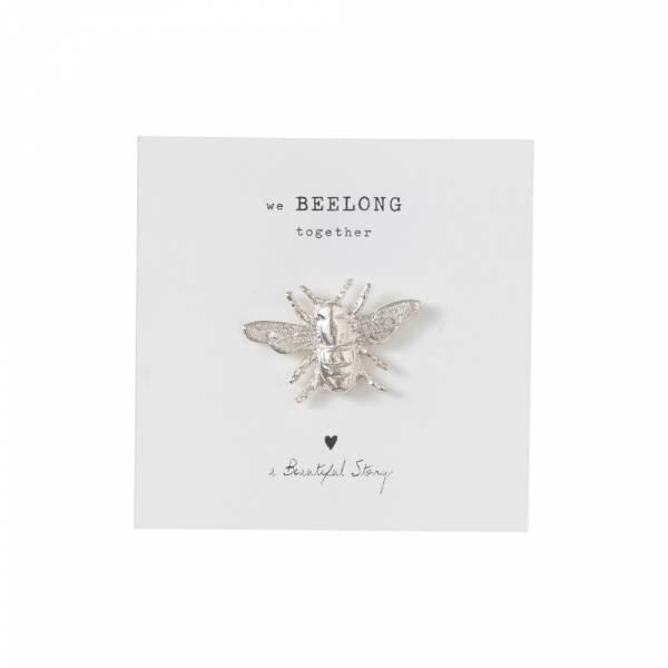 Brooch Bee Silver
